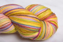 Image of Misti Alpaca Hand Paint Sock Yarn Fingering HS65 Bananas