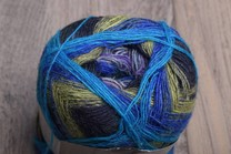 Image of Noro Kirameki 152 Blue, Turquoise, Black