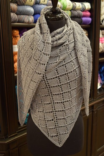 Introducing the Dorothea Wrap Knit with Berroco Fiora