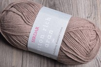 Image of Sirdar Cotton Rich Aran 8 Nutmeg