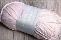 Sirdar Cotton Rich Aran 6 Peachy Pink