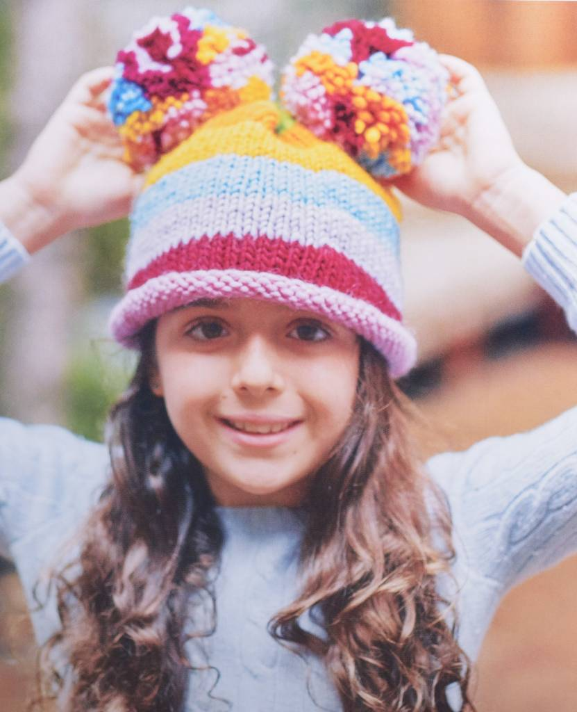 Kids' Knitting Workshop 2: Stripy Hat, Wednesday, July 26, August 2, 9;  4:00-5:00PM