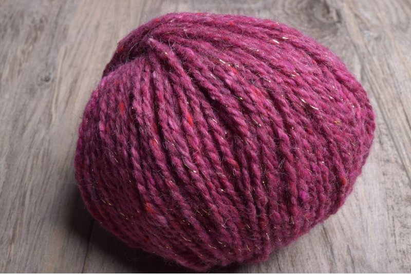 Berroco Blackstone Tweed 4642 Metallic Rhubarb