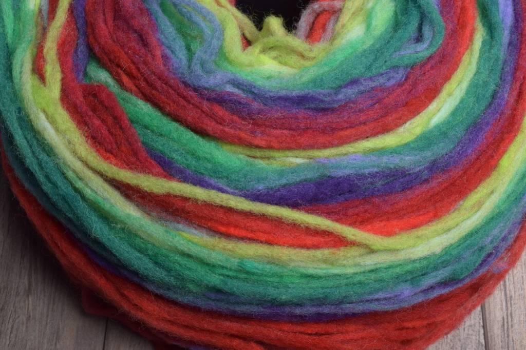 Image of Noro Rainbow Roll 1019 Reds, Greens