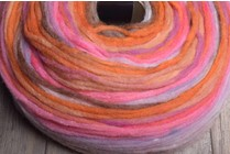 Noro Rainbow Roll 1011 Orange, Pink
