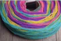 Noro Rainbow Roll 1017 Pinks, Yellow, Green