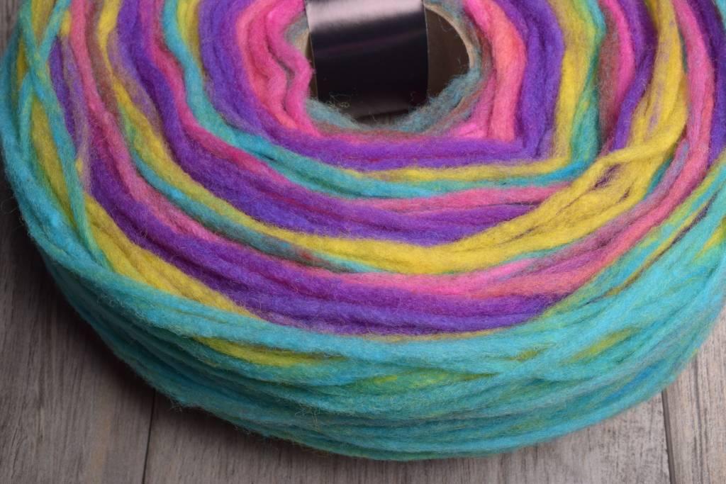 Image of Noro Rainbow Roll 1017 Pinks, Yellow, Green
