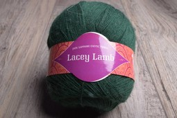 Image of Jade Sapphire Lacey Lamb 4042 Bottle Green