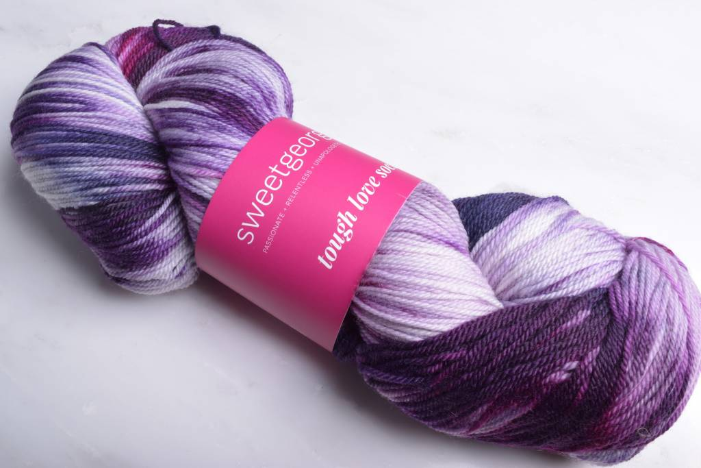 Image of Sweet Georgia Tough Love Sock Yarn Anthem