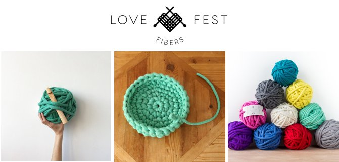 Experience Love Fest Fibers' Tough Love Jumbo Yarn