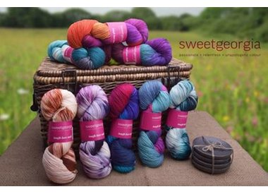 New Sweet Georgia Tough Love Sock Yarn Colors!!!