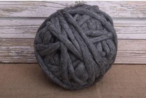 Love Fest Fibers Tough Love, 50 yard, Charcoal