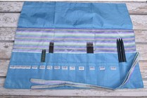 Image of Della Q Double Point Needle Roll 158-1, 23 Ocean Stripe