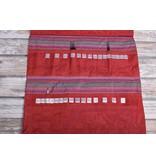 Image of Della Q Double Interchangeable Needle Case 195-1, 4 Red Stripe