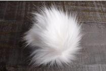 Faux Fur Pom Pom Arctic Fox