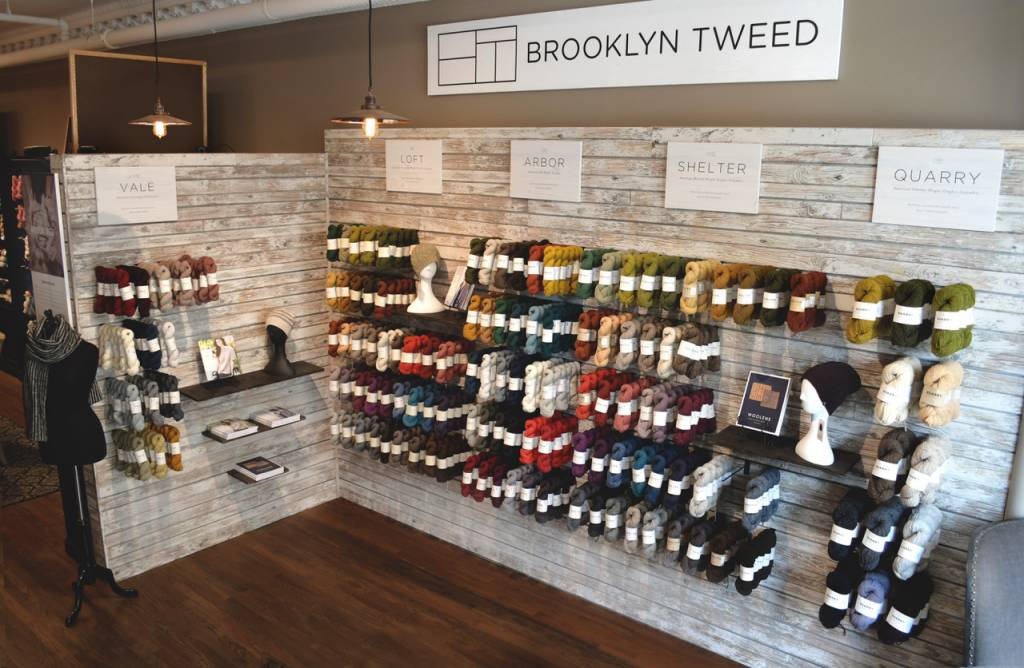 Wool & Co. Now a Destination Store for Brooklyn Tweed!
