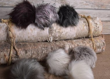 Image of Faux Fur Pom Pom