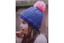 Kids' Knitting Workshop, Session 5, Ribbed Hat with Pom Pom, Wednesday, October 25, Nov.1, 4:00-5:00PM