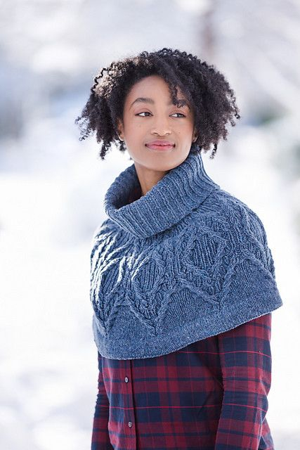 Pyry Cabled Cowl Capelet, Tuesday, September 12, 19, 26; 6:00-8:00PM