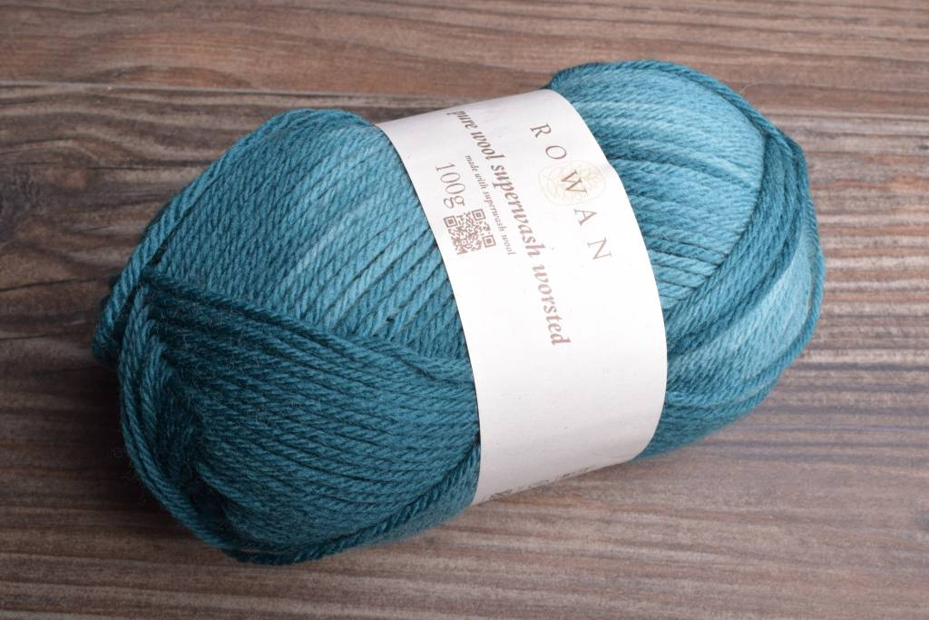 Rowan Pure Wool Worsted 176 Teal Wash