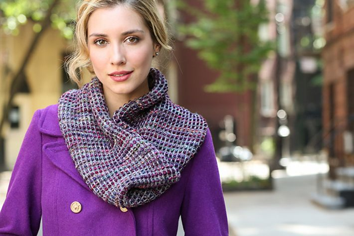 Wool & Co. Feature Pattern of the Week - Morton Cowl