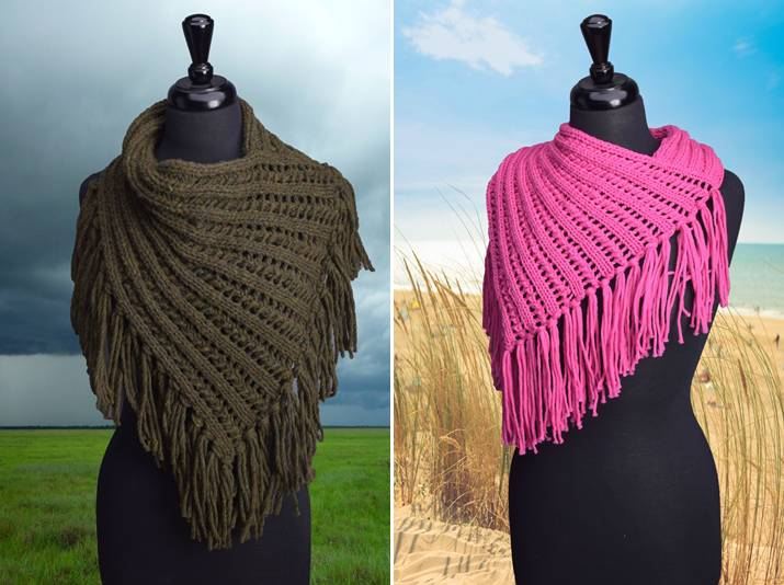 Wool & Co. Feature Pattern of the Week - Arika Cowl