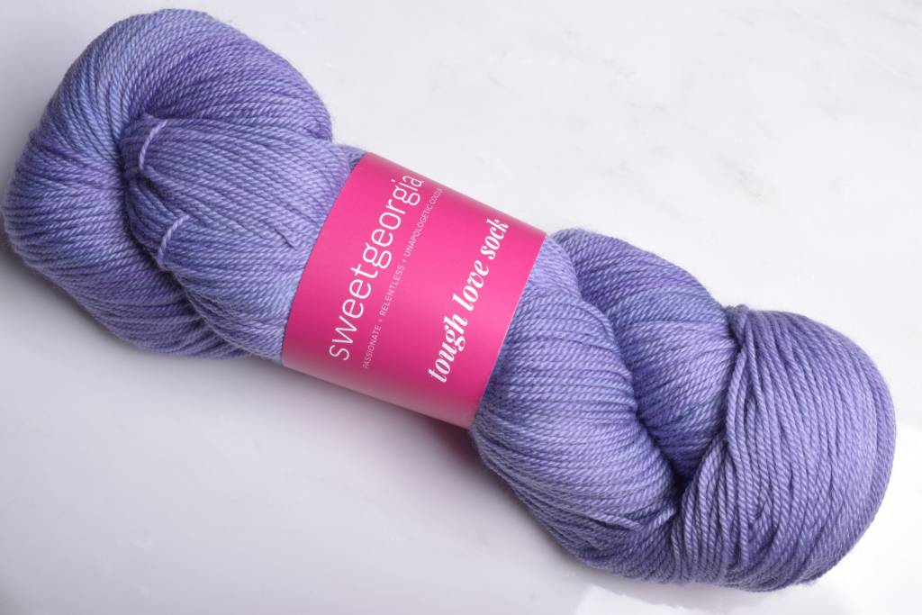 Sweet Georgia Tough Love Sock Yarn Wisteria