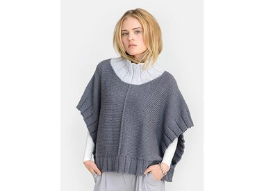 Wool & Co. Feature Pattern of the Week - Two Harbors Poncho