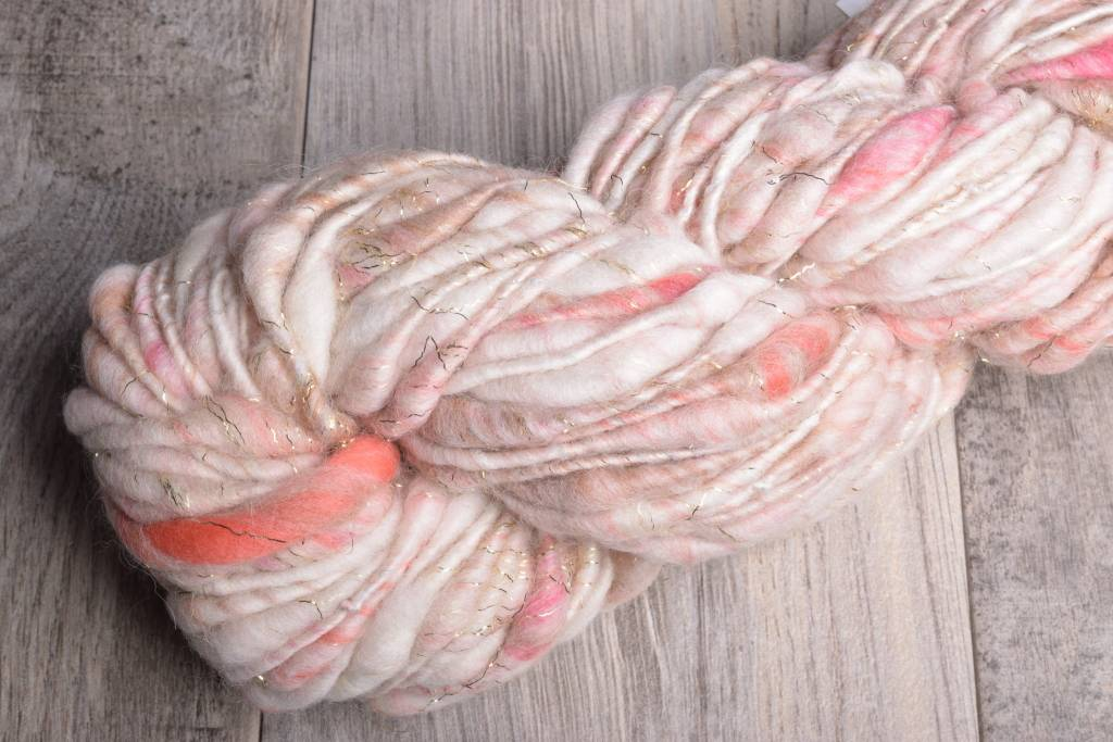 Image of Knit Collage Cast Away Peachy Sparkle