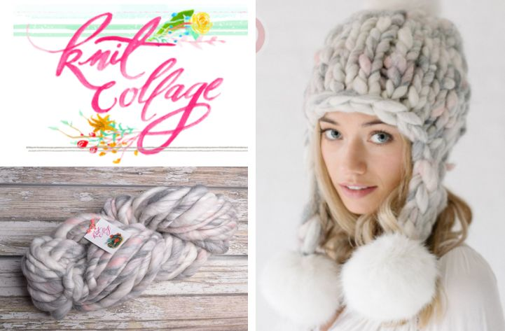 Wool & Co. Feature Pattern of the Week - Pom Bomb Hat