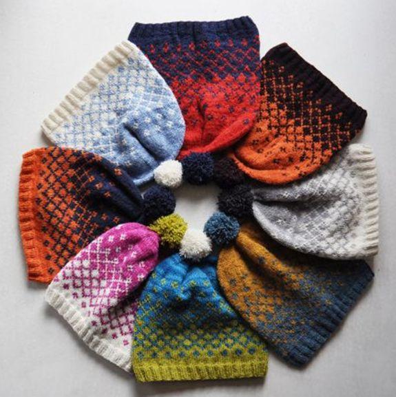 Wool & Co. Feature Pattern of the Week - Slalom Hat