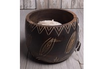 Knitter's Pride Yarn Bowl Leafy