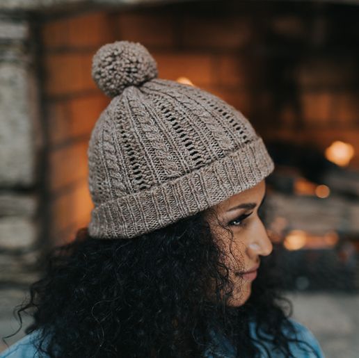 Wool & Co. Feature Pattern of the Week - Wayah Beanie