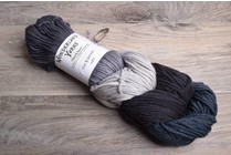 Wonderland March Hare Mini-Skein Braids 57 Coal & Scuttles
