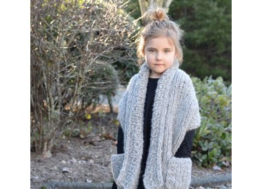 Wool & Co. Feature Pattern of the Week - Elmy Wrap