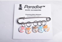 Image of Paradise Charming Stitch Markers Fox