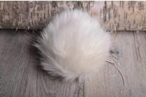 Image of Faux Fur Pom Pom Arctic Fox