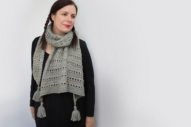 Wool & Co. Feature Pattern of the Week - Sonder Shawl