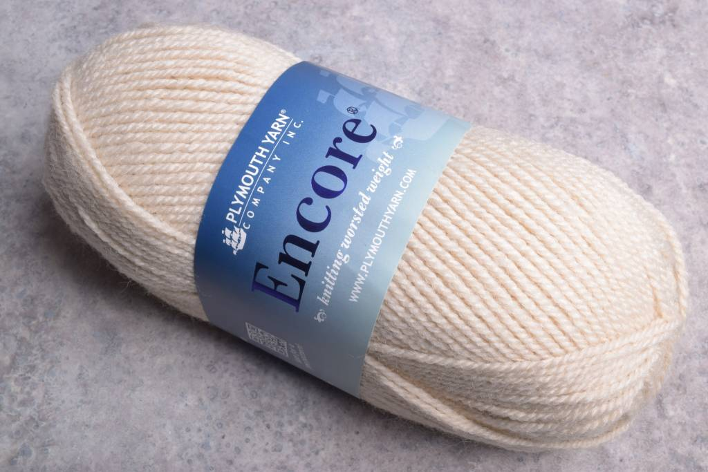 Plymouth Encore Worsted 1202 Sand