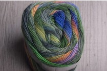 Image of Lang Mille Colori Socks 97 Green, Blue, Sunset
