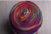 Image of Lang Mille Colori Socks 66 Magenta, Green, Sunset