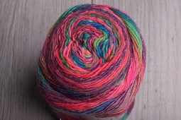 Image of Lang Mille Colori Socks Luxe 50 Rainbow Sparkle