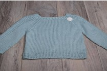 Image of Flax Baby Sweater, Wednesday, April 11,18, May 2,9; 6:00-8:00PM