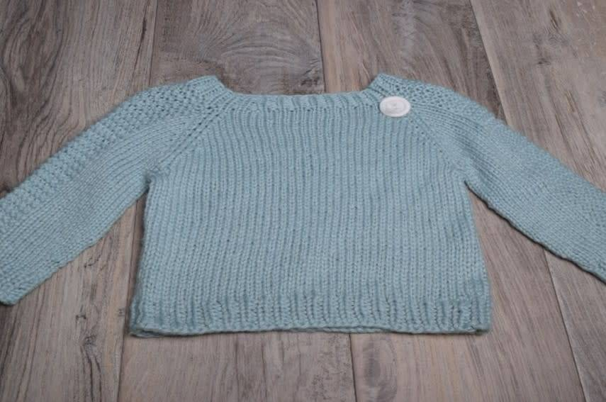 Flax Baby Sweater, Wednesday, April 11,18, May 2,9; 6:00-8:00PM