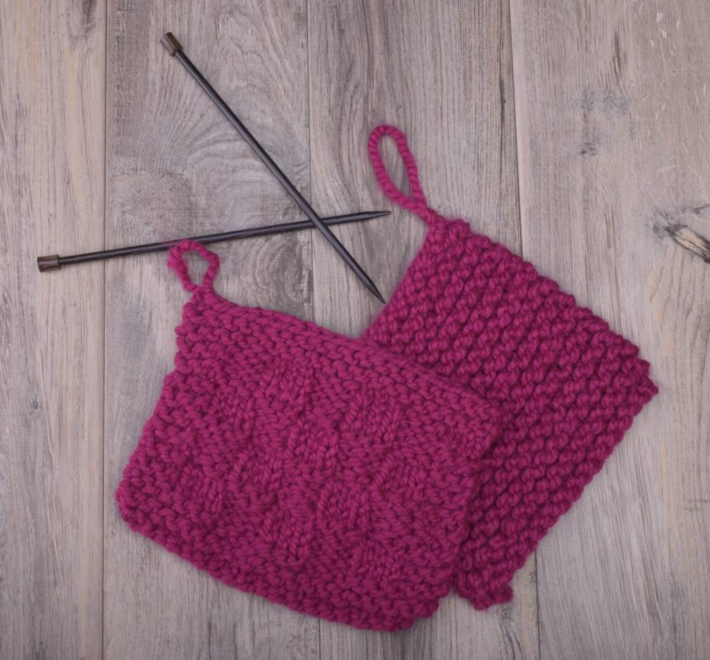 Knitting 101: Learn to Knit, Thursday, May 3, 10, 17, 24;  12:00-2:00PM