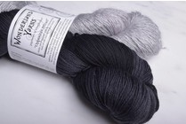 Wonderland Yarns Opposites Attract #4 Little Bat with Goat's Beard