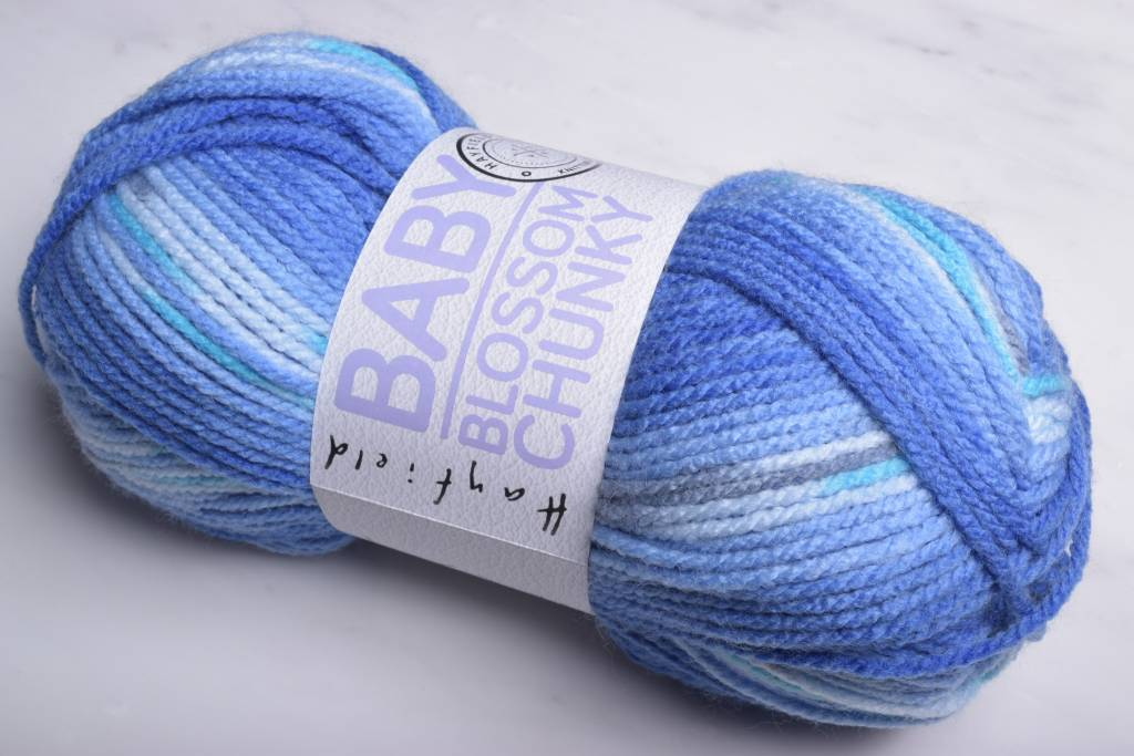 Image of Hayfield Baby Blossom Chunky 362 Baby Bluebell