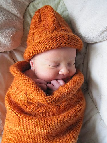 Wool & Co. Feature Pattern of the Week - Owlie Sleep Sack