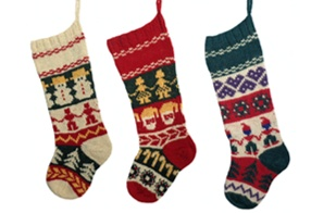 Image of Heritage Christmas Stocking, Wednesday, July 18, August 22, 29; 6:00-8:00PM
