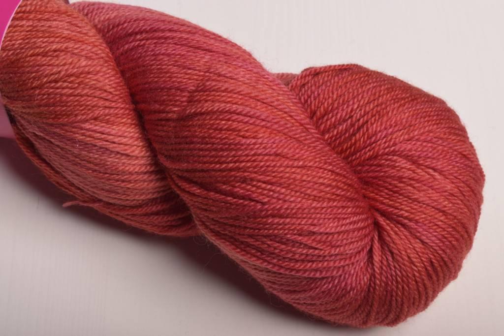 Image of Sweet Georgia Tough Love Sock Yarn Coral Rose